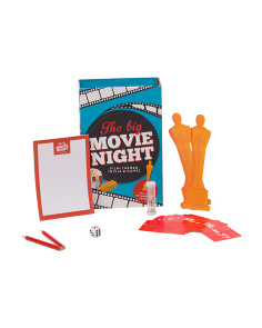 Large Match Box Move Night Trivia