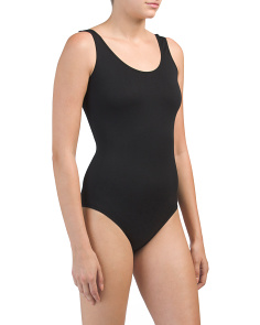 Seamless Scoop Neck Body Suit