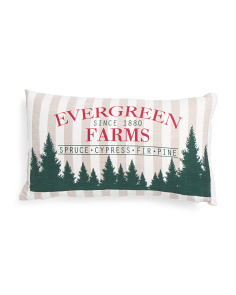 14x24 Evergreen Farms Pillow
