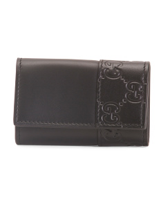 Made In Italy Leather Multi Key Holder