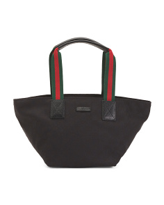 Made In Italy Small Logo Tote