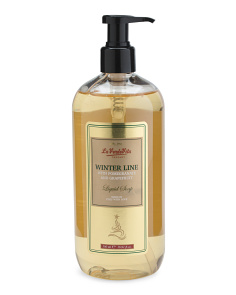 16.9oz Metallic Label Liquid Soap