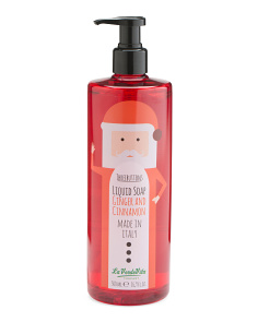 16.9oz Santa Ginger And Cinnamon Liquid Soap