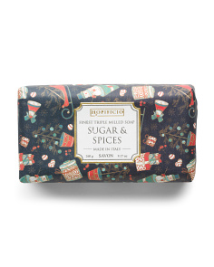 9.17oz Sugar & Spices Soap Bar
