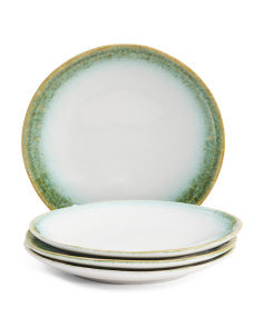 Made In Portugal 4pk Alicia Reef Appetizer Plates