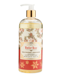 16.5oz Winter Rose Liquid Soap