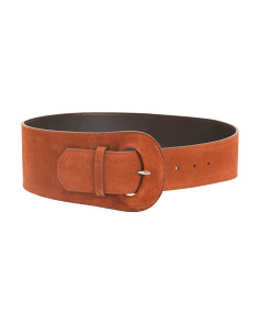 Made In Italy Suede Belt