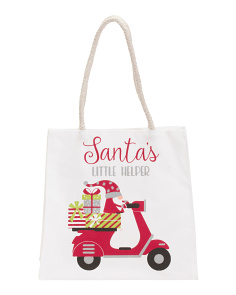 2pk Santa's Little Helper Gift Bags
