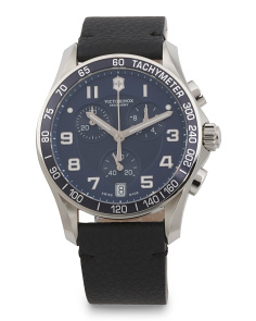 Men's Swiss Made Chrono Classic Bracelet Watch
