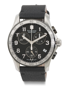 Men's Swiss Made Chrono Classic Watch