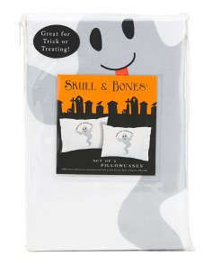 Ghost Trick Or Treating Pillowcases