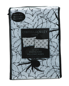 Spider Web Trick Or Treating Pillowcases