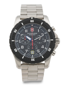 Men's Swiss Made Maverick Sport Chrono Bracelet Watch