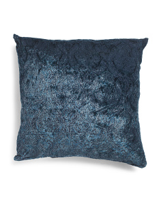 26x26 Oversized Burnout Velvet Pillow