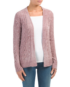 Juniors Open Cardigan