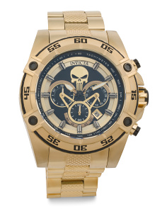 Men's Marvel Punisher Bracelet Watch