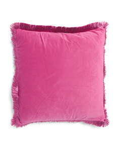 20x20 Fringe Pillow