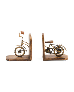 Made In India Bicycle Bookends