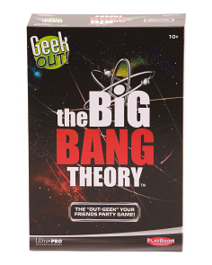 Geek Out Big Bang Theory Edition
