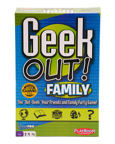 Geek Out Family Game