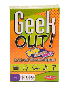 Geek Out Pop Culture Party Game
