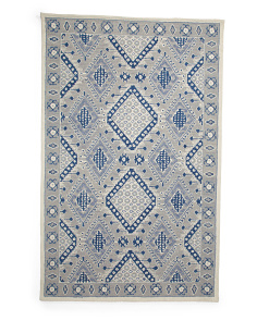 Made In India Micro Loop Area Rug
