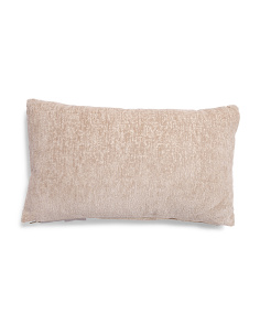 14x24 Metallic Textured Pillow