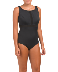 Missy High Neck One-piece Swimsuit