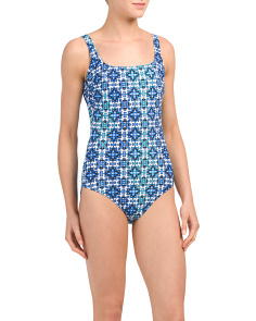 Low Back One-piece Swimsuit
