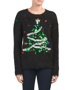 Christmas Tree Cozy Sweater