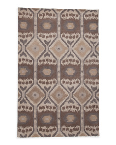 Hand Tufted Wool Global Look Area Rug