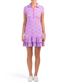 Tennis Sun Protective Ruffle Dress