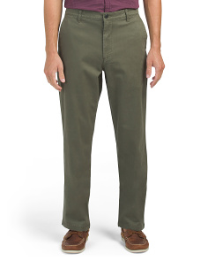 Standard Washed Stretch Khaki Pants