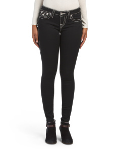 Super Skinny Jeans With Pocket Flaps