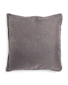 22x22 Whipstitch Textured Pillow