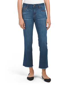 Nicole Ankle Straight Leg Jeans