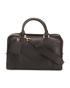 Made In Italy Leather Amazona Bag