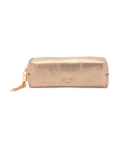 Embossed Pencil Case