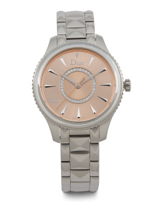 Women's Swiss Made Diamond Accent Montaigne Bracelet Watch