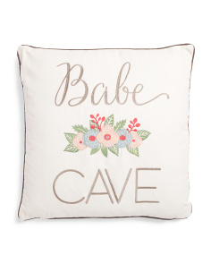 20x20 Babe Cave Pillow