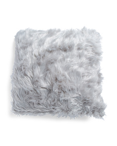 26x26 Mongolian Faux Fur Pillow