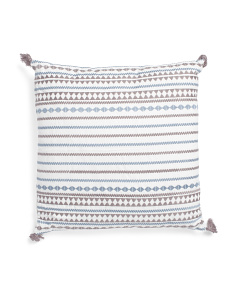 20x20 Mini Geo Stripe Pillow