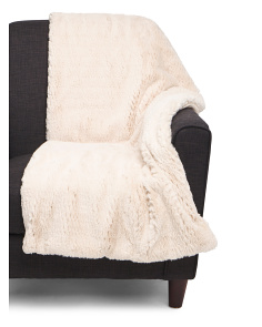 Macon Faux Fur Throw