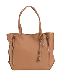 Leather Bleeker Tote