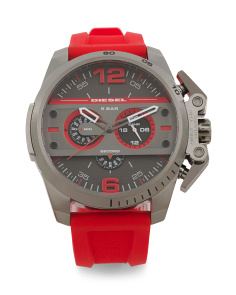 Men's Ironside Silicone Strap Watch