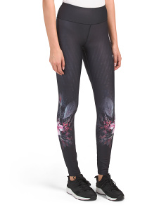Abstract & Floral Printed Leggings