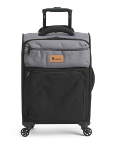 21in Duotone 4 Wheel Carry-on