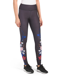 Flower Printed Leggings