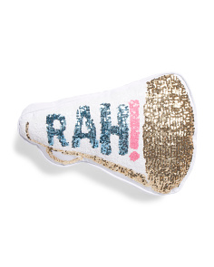 Rah Sequined Pillow