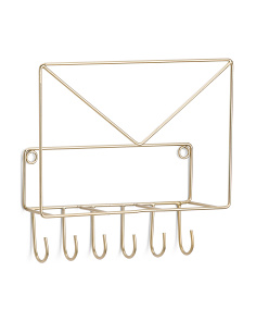 Wall Organizer With Hooks